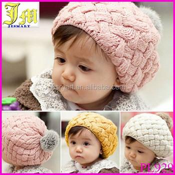 Heißer Verkauf Kinder Mädchen Baby Handgefertigten Hut Häkeln