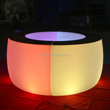 CE RoHS rechargeable waterproof led furniture light bar nightclub supplies