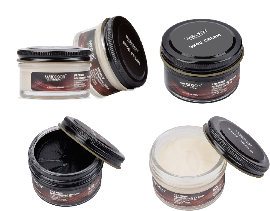 Professional shoe cream polish