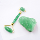 Amazon gemstone Slim Chin Double Aventurine Facial Massage Natural Jade Roller