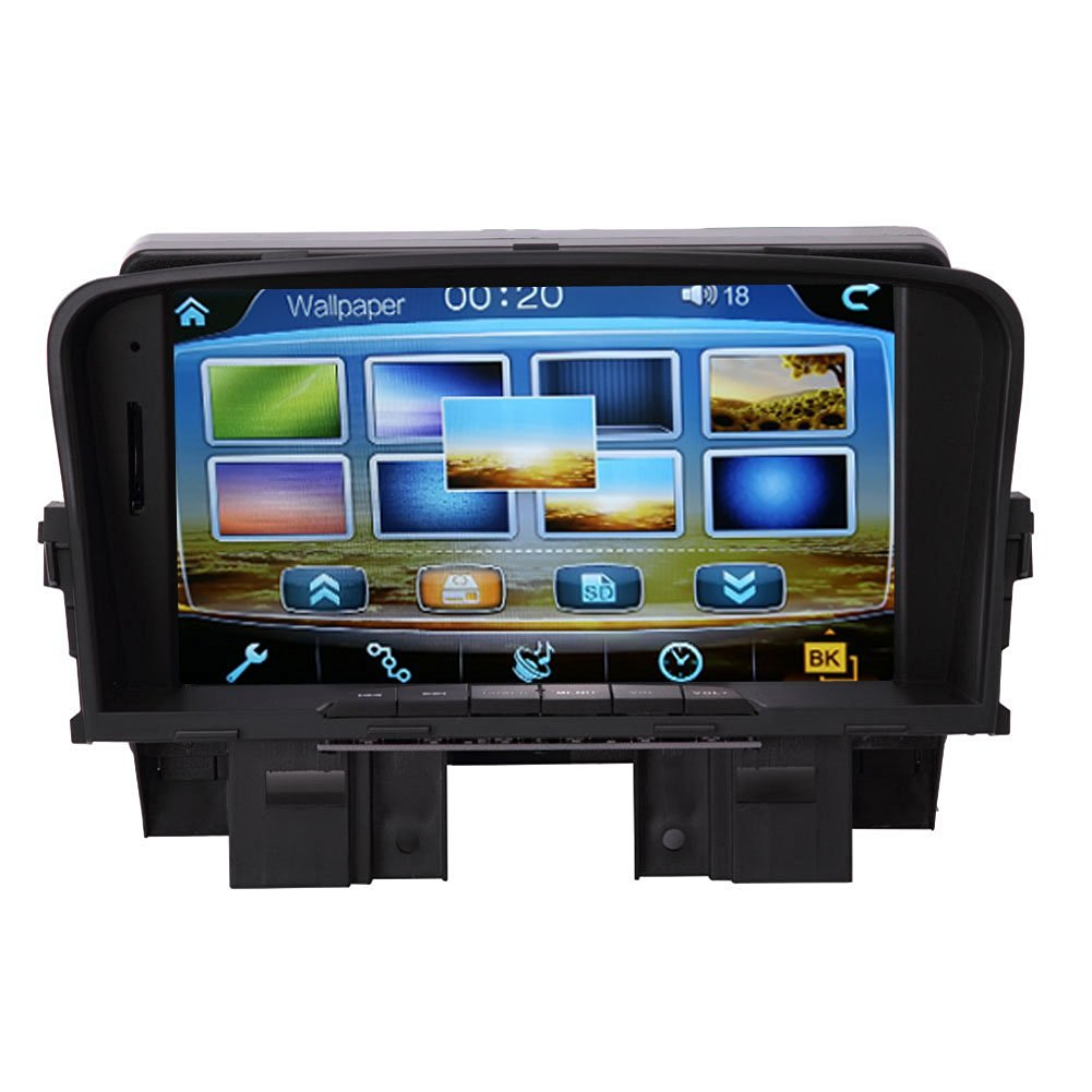 Chevrolet Cruze Infotainment System: Configure Menu