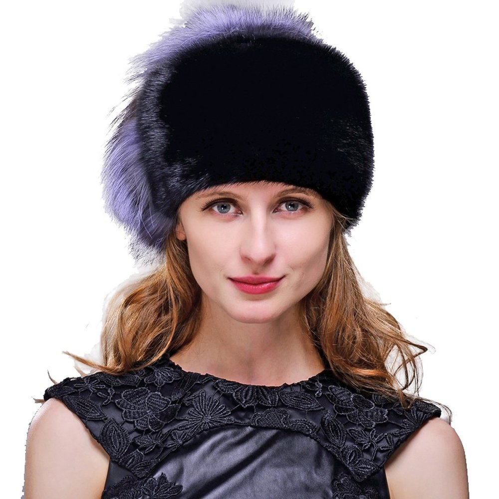 764e9cd5f88 Buy Women  39 s Mink Fur Fedora Hat with Silver Fox Fur in Cheap Price on  m.alibaba.com