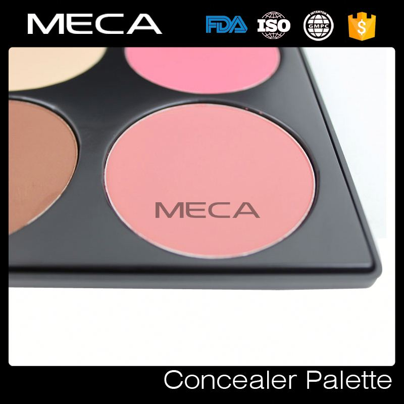 powder blush custom 6 colors Blush Palette