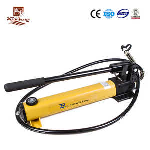 Two Stage Safety Manual High Pressure Hydraulic Oil Hand Pump