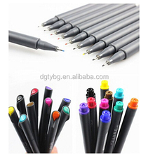 0.38mm Ultra Fine Felt Tips Colored Pen, Fineliner Color Pen Set,Fine Liner Sketch Drawing Pen