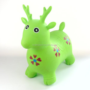 cbe2dbac2ac Inflatable Bouncing Deer
