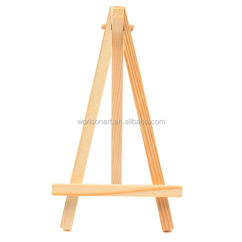 9*16cm Mini Wood Artist Tripod Painting Easel For Photo Painting ...