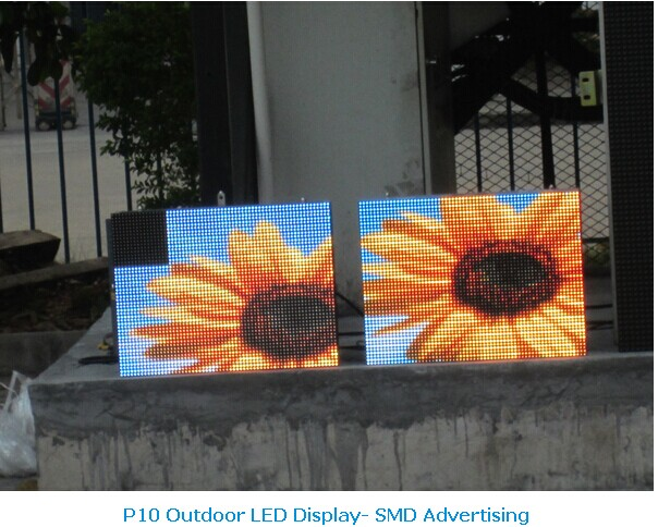 p10 coloful image vide led vision display screen