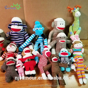Screaming Superfly Stuffed Slingshot Sock Monkey Sock Monkey Lot