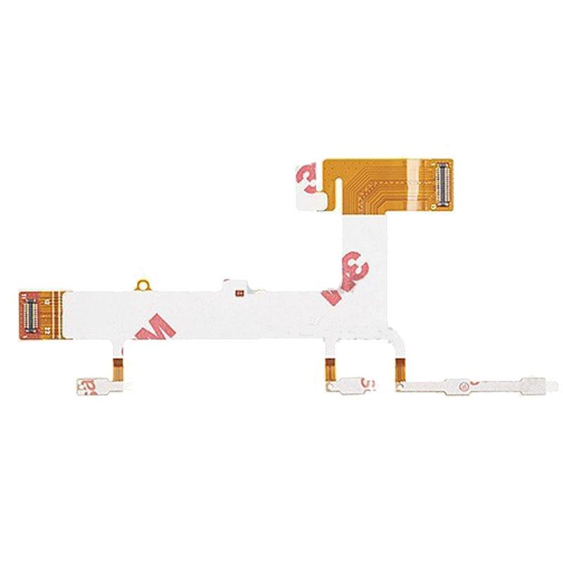 Электропитание пуговица и объем пуговица боковые клавиши гибкий кабель лента замена запчасти для Nokia Lumia 625