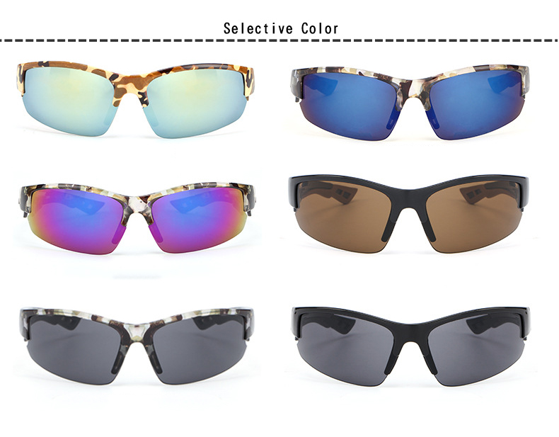 Sunglasses for outdoor sport driving fishing PC light sunglasses