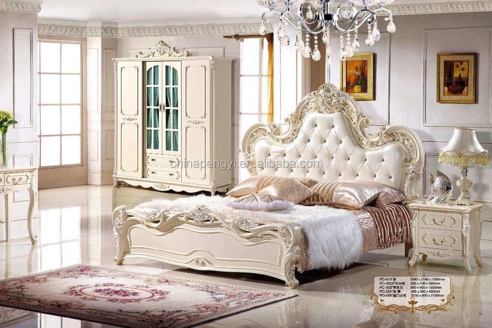 Foshan Furniture Market Classic Modern Turkish Bedroom Furniture