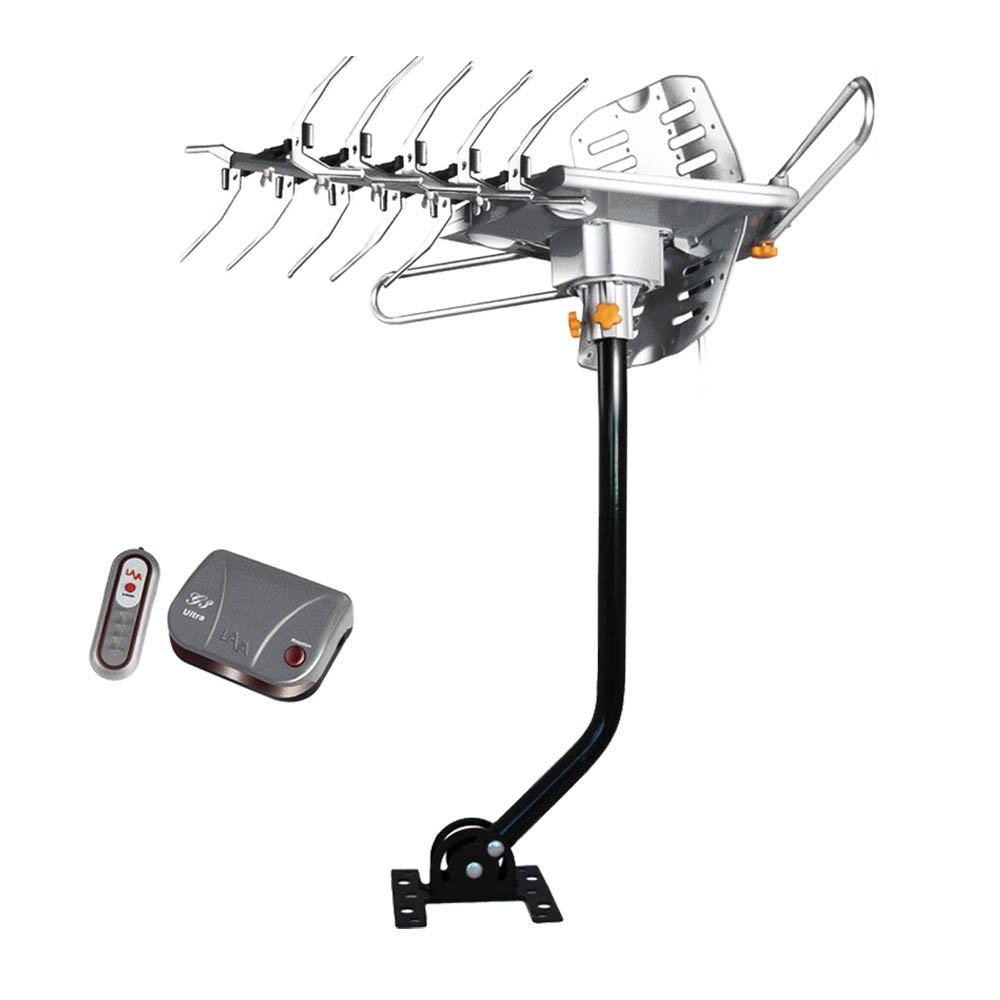 Lava Electronics HD-2605 UHF//VHF HDTV Antenna with Remote Control