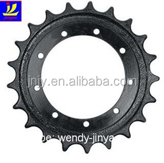China manufacture Japan excavator undercarriage parts PC240-7 driving sprocket