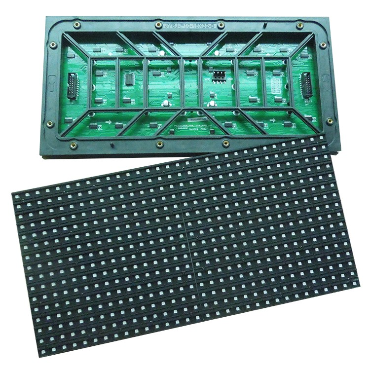 wholesale price High brightness 32*16pixels waterproof outdoor full color smd p10 display led module