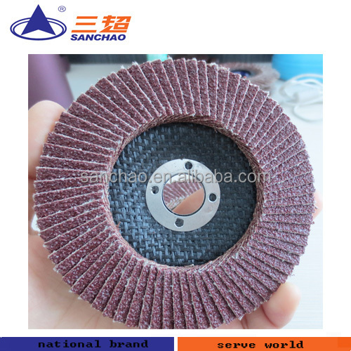 Flat Flap Disc Grinding Sanding Wheels
