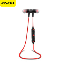 Top selling stereo dual track high quality A920BL awei new arrival bluetooth earphone sport