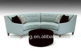Chaise Lounge Two Seat Half Moon Shape Sofa