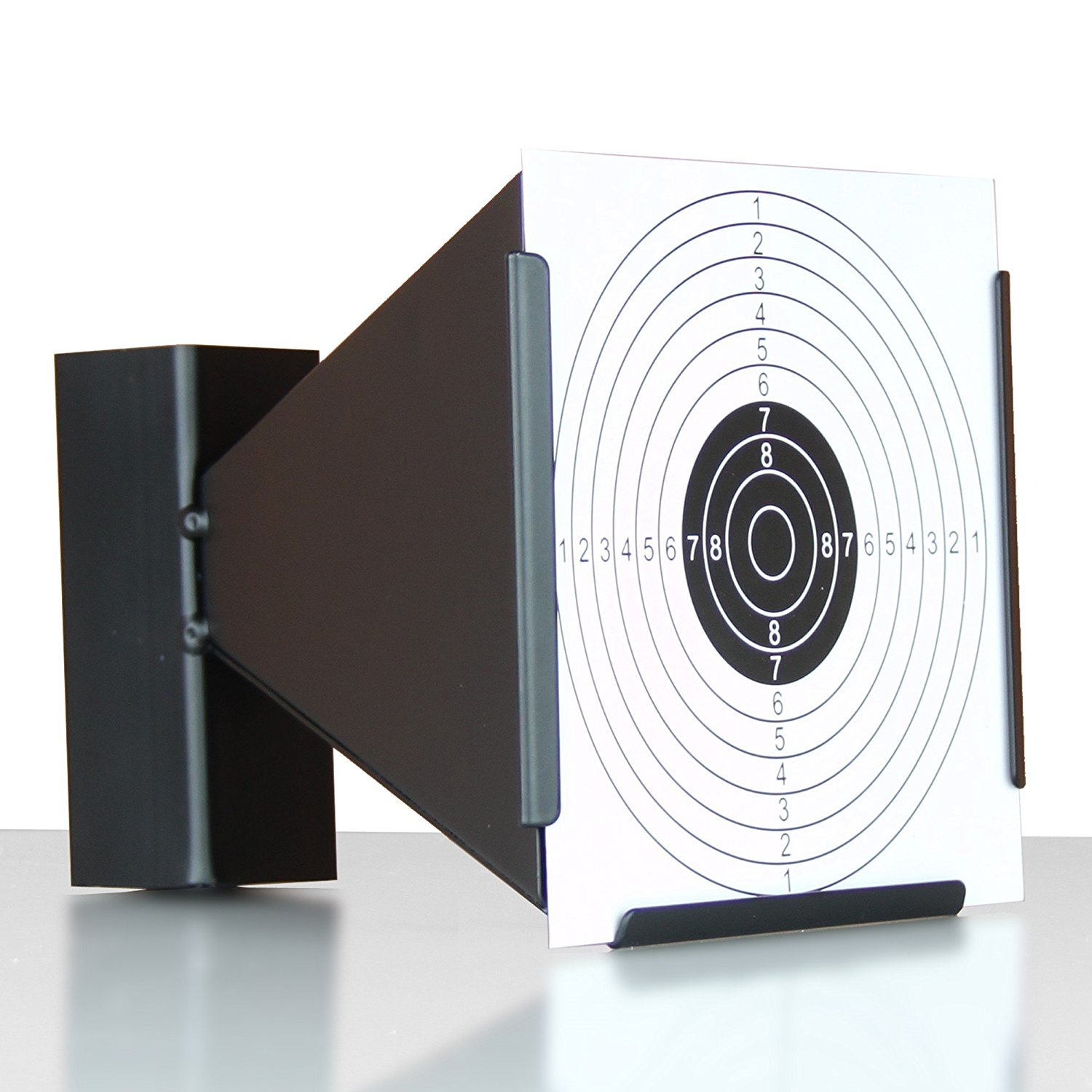 Shooting target air gun pellet trap inc 10 paper targets in 2 designs