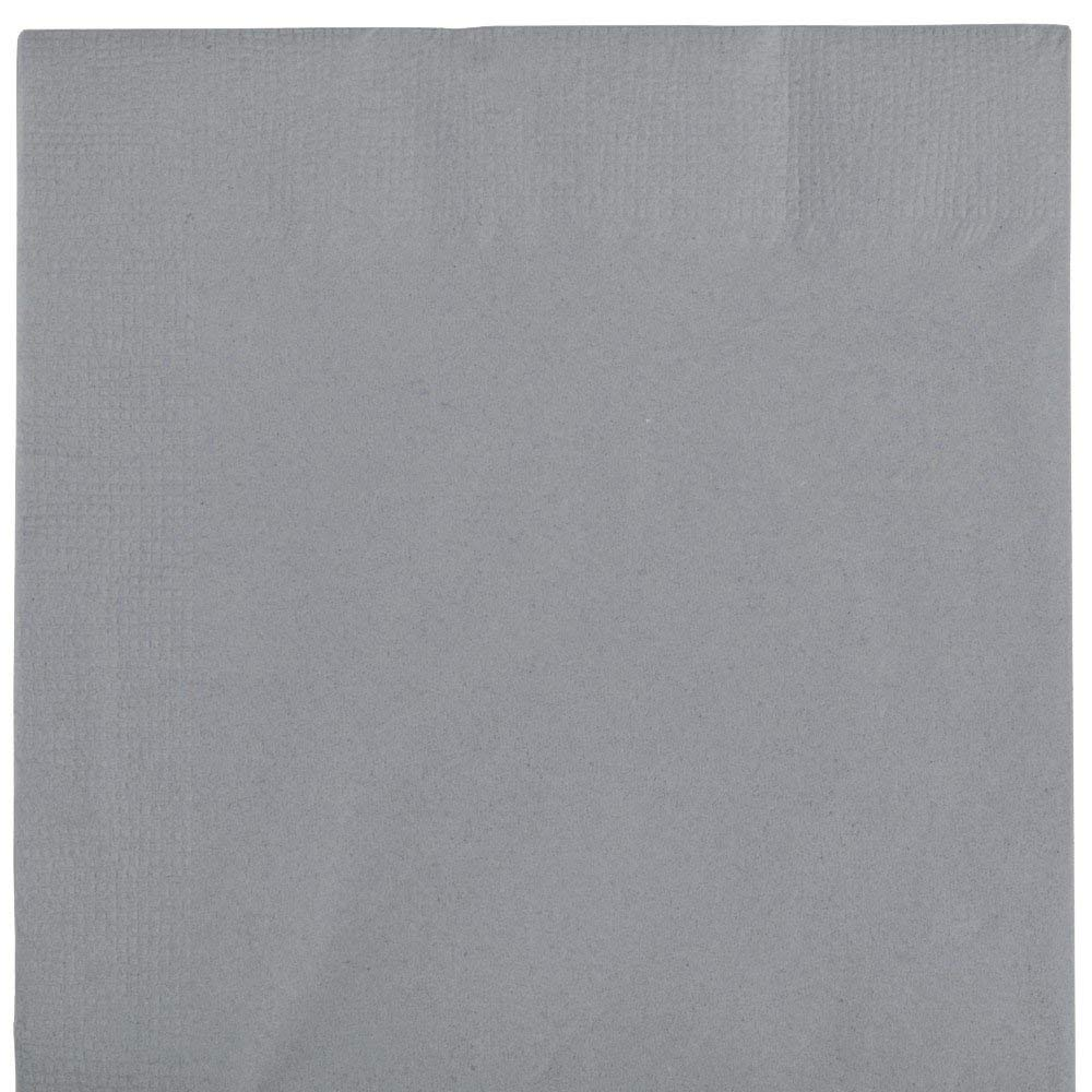 Get Quotations · Silver 1/8th Fold Dinner Napkins 50ct