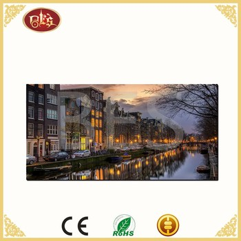 interior scenery wall decoration frame painting