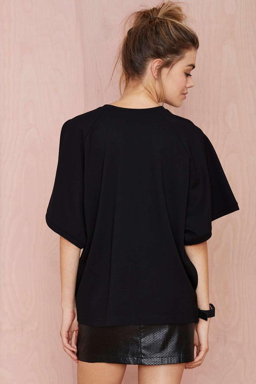 Design your own t-shirt female - Black Oversized Design Your Own T Shirt For Women