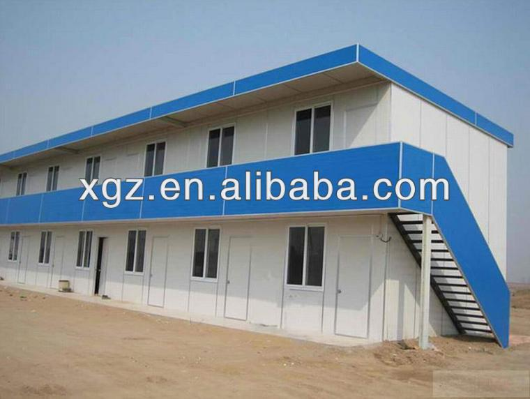 Mobile Green Prefabricated Mining Camp