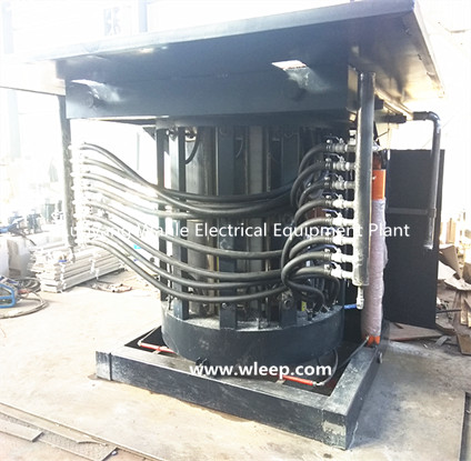 1.5T Steel Shell IF Aluminium Melting Induction Furnace