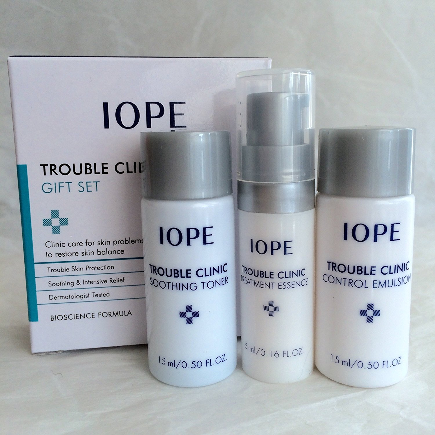 Iope Trouble Clinic Trial Kit (3 Items)
