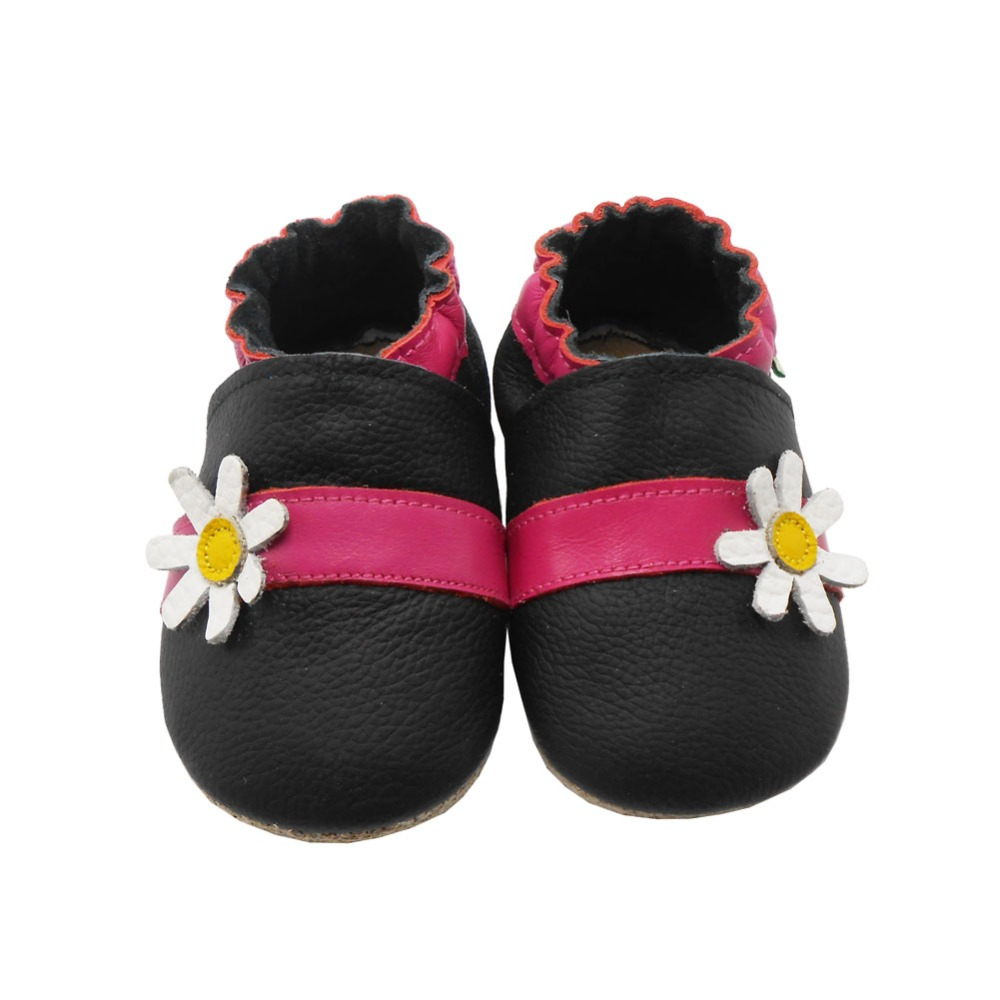 Sayoyo New Baby Moccasins Genuine Cow Leather Flower Baby Shoes Girl Newborn Infant Crib Shoe Kids First Walkers Free Shipping