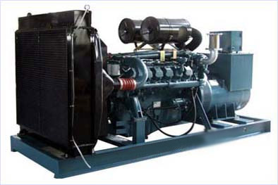 6 cylinder water cooled Korea made Daewoo 220kw electric generator