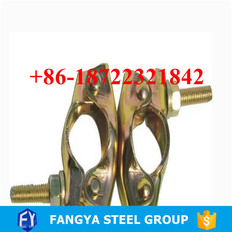 building materials ! fiber coupler scaffolding bs1139 forged british double coupler