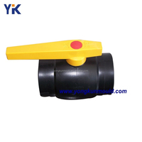 Plastic PE ball valve mold manufacturing