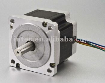 Nema 34 1 2 degree step angle 3 phase stepper motor for Stepper motor step size