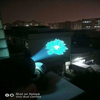 High resolution custom advertising led logo projector