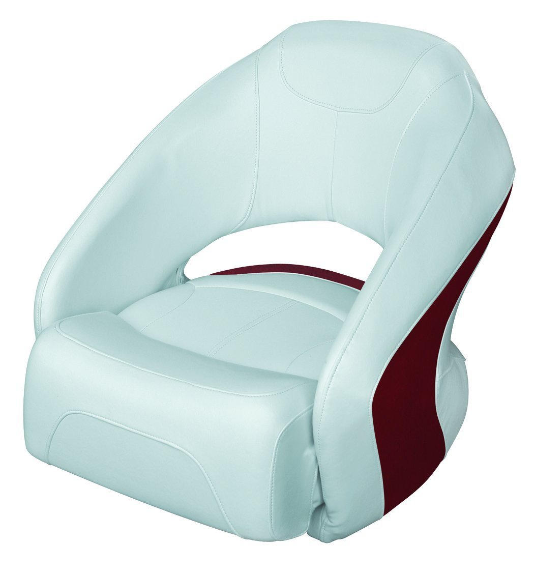 WISE 8WD1217 Series Modern Bucket Seat with Flip Up Bolster