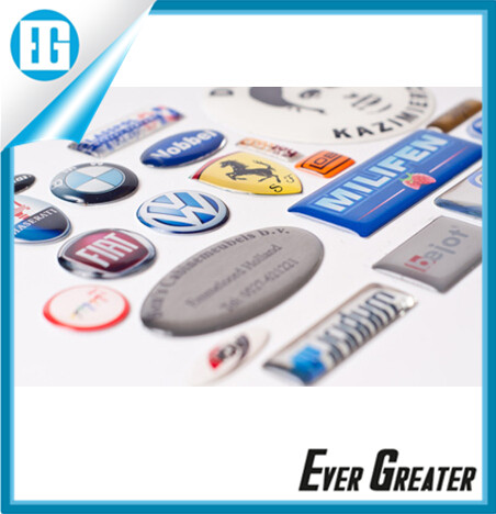 New design and clear epoxy resin dome stickers labels