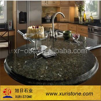 Emerald Pearl Round Granite Kitchen Tables,tile Top Kitchen Table,granite  Top Dining Round