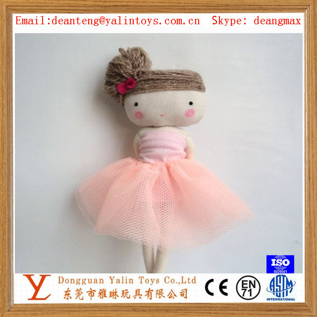 New Fashion Soft Plush toys rag doll for kids/girl/children/adult