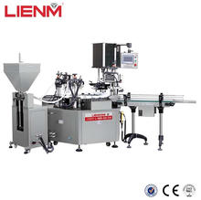 Automatic Oil Lotion Cosmetic Bottle Filling And Capping Machine Cream Production Bottle Washing Line Equipment