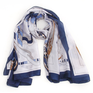 Trending satin scarf fashion ladies match small suits scarf with awesome quality and patterns