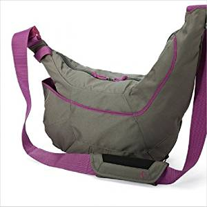 Pink/Gray Genuine Lowepro Passport Sling II DSLR Camera Bag Travel Inclined Shoulder Casual Bag for Canon Nikon Sony Waterproof