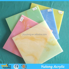 Mica Acrylic Sheet Marble Solid Surface Acrylic