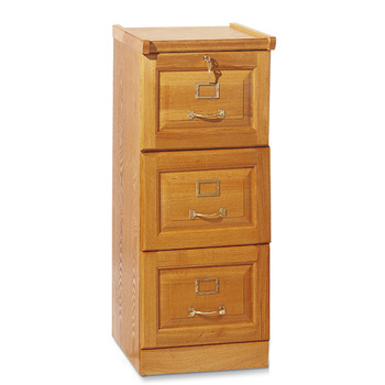 Hot Sell 3 Drawer Cheap Locking Wood Office Filing Cabinet