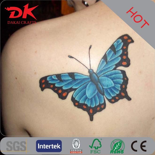 Vind De Beste 3d Tattoo Vlinder Fabricaten En 3d Tattoo