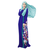 China Supplier Hot Sale 2018 Dubai Islamic Clothing Abaya Muslim Women Party/Prayer Dress