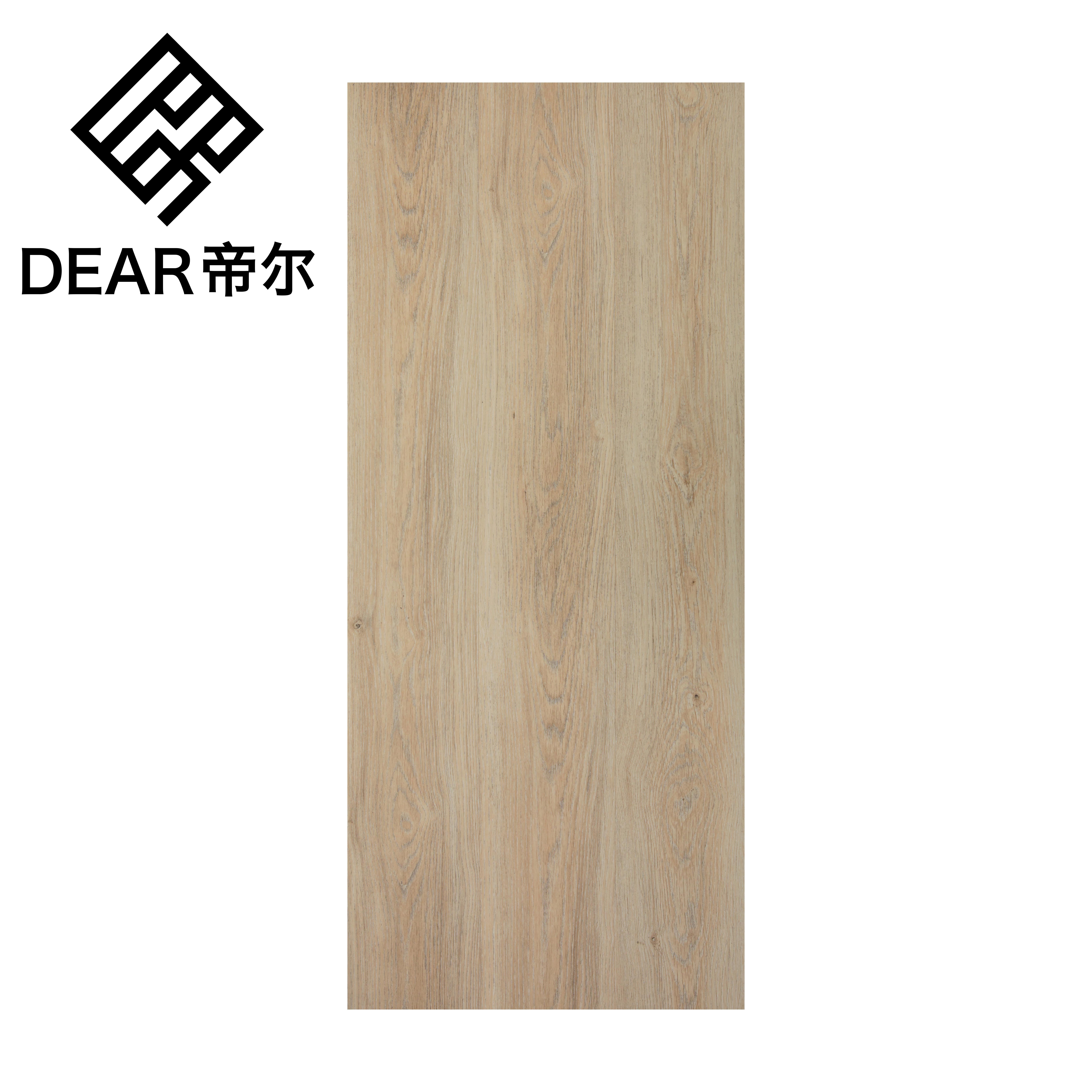 Spc pvc rvp không thấm nước 5mm spc gỗ không thấm nước kết cấu lai vinyl tấm ván bấm vào sàn cho bệnh viện