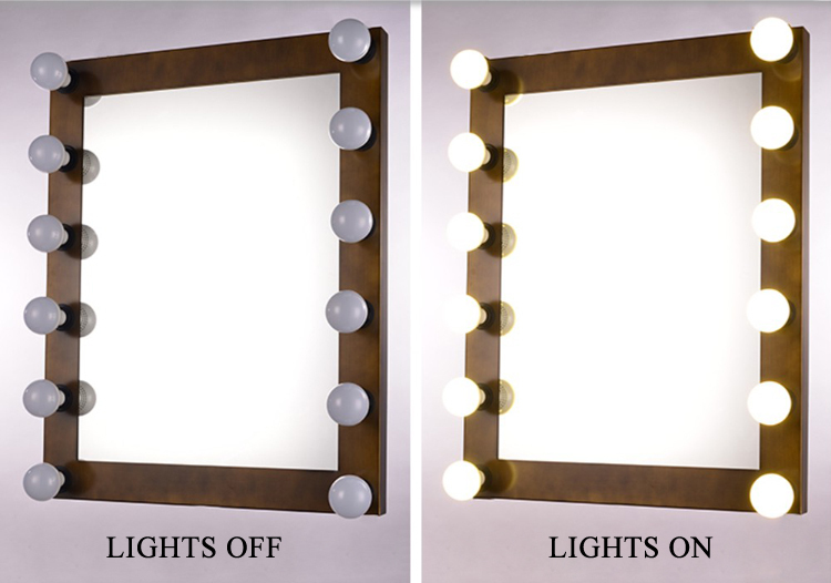 New Designed Salon Makeup Mirror With Led Lights