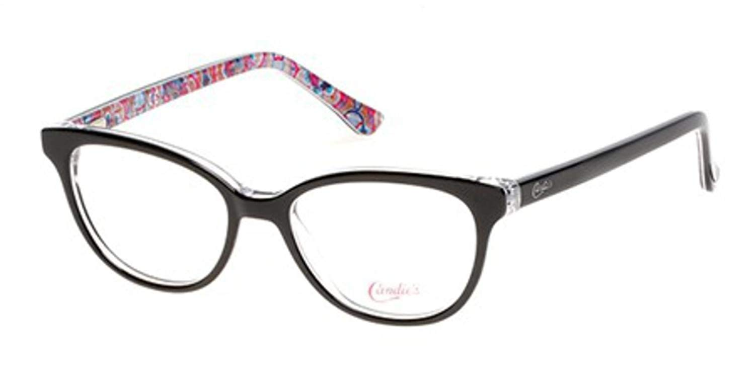 70c3fcab50 Get Quotations · Eyeglasses Candies CA 0505 005 black other