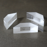 Optical glass Dove prism sapphire